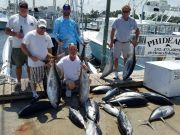 Phideaux Fishing Outer Banks Charters, Christmas tuna