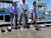 Phideaux Fishing, Steve with family and tuna