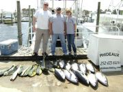 Phideaux Fishing Outer Banks Charters, Great spring fishing, tuna and mahi