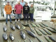 Phideaux Fishing Outer Banks Charters, GAFFERS AND TUNA