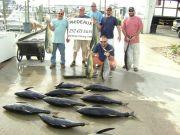 Phideaux Fishing Outer Banks Charters, TUNA or MAHI !!!!!