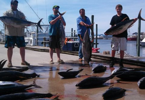 Phideaux Fishing Outer Banks Charters, Make-Up Charter